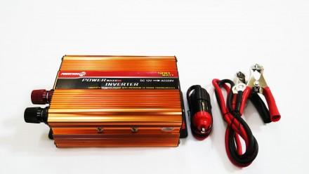 Преобразователь напряжения  12V в ~220V 500W Технические характеристики: - m. Чернигов, Черниговская область. фото 4