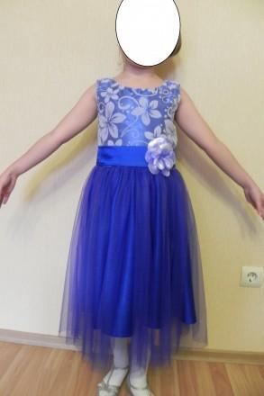 Платье детское нарядное, для выпускного. Сумы. фото 1
