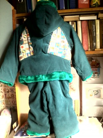 продам зимний костюм ( куртка ) в хорошем состоянии , очень теплый . темно зелен. Черкассы, Черкасская область. фото 3