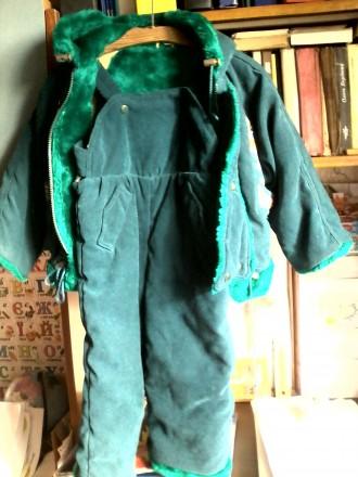 продам зимний костюм ( куртка ) в хорошем состоянии , очень теплый . темно зелен. Черкассы, Черкасская область. фото 4