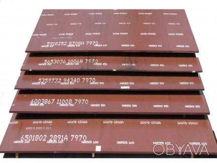 Лист Hardox 400 с твердостью 370-430 единиц по Бринеллю (370-430 HBW) Лист Hard. Киев, Киевская область. фото 1