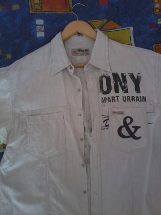 продам рубашку лен недорого.р.48/50.могу переслать.звоните договоримся.. Чернигов, Черниговская область. фото 3