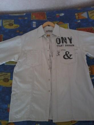 продам рубашку лен недорого.р.48/50.могу переслать.звоните договоримся.. Чернигов, Черниговская область. фото 2
