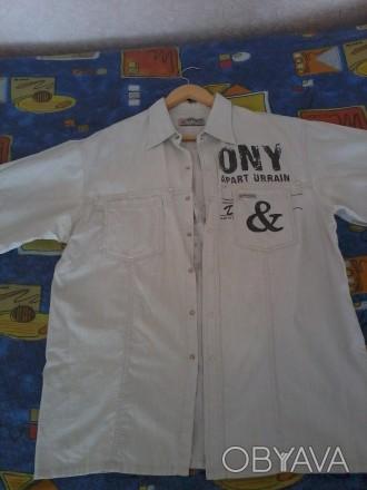 продам рубашку лен недорого.р.48/50.могу переслать.звоните договоримся.. Чернигов, Черниговская область. фото 1