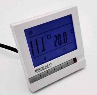 Цифровой программируемый комнатный термостат для отопления/кондиционирования. Винница. фото 1