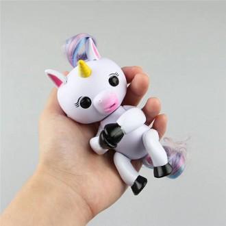 Интерактивный единорог Happy Unicorn Алика аналог Fingerling. Харьков. фото 1