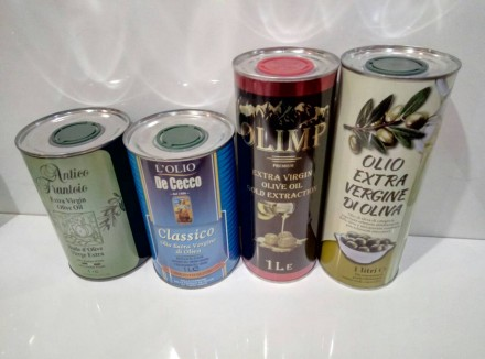 Оливковое масло фасовка 1л жб. Запорожье. фото 1