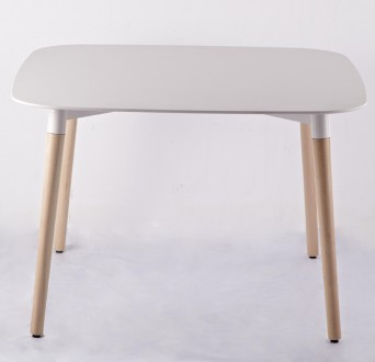 Прямоугольный стол Paris white 130-XWD (Пэрис белый), 120*80 см. Киев. фото 1