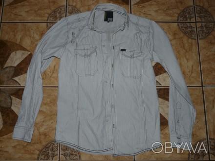 Рубашка подростковая Jack&Jones оригинал size S/44 -46 100% хлопок