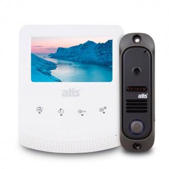 Комплект видеодомофона ATIS AD-430B Kit box. Буча. фото 1