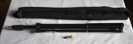 Штатив Weifeng W803 black (72-230см).Стойка для установки студийных или накамерн. Кривой Рог, Днепропетровская область. фото 2