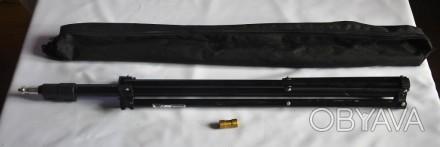 Штатив Weifeng W803 black (72-230см).Стойка для установки студийных или накамерн. Кривой Рог, Днепропетровская область. фото 1