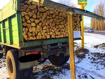 Доставим вам дрова граб, дуб, или акацию, рубаные в укладку (уложенные как на фо. Обухов, Киевская область. фото 2