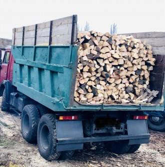 Доставим вам дрова граб, дуб, или акацию, рубаные в укладку (уложенные как на фо. Обухов, Киевская область. фото 5
