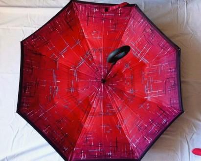 НОВИНКА!Обратный зонт! РОЗПРОДАЖА. Иваничи. фото 1