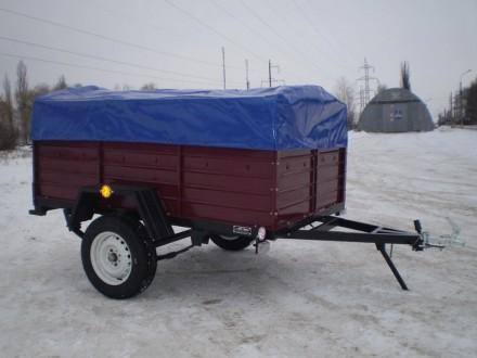 прицеп легковой с доставкой по Украине. Одесса. фото 1