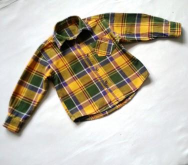 Рубашка байковая Mothercare 2-3 года. Кривой Рог. фото 1