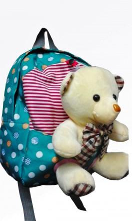 Детский рюкзачок с игрушкой