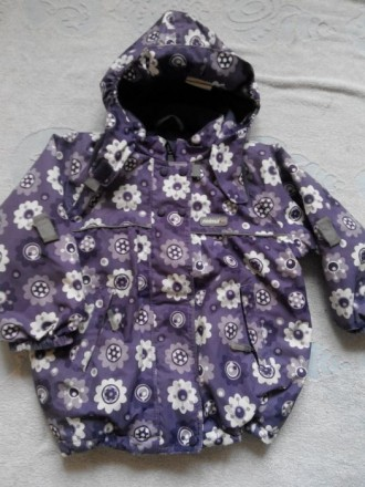 Продам зимнюю куртку Reima.Размер 98.На рукавах есть небольшие протертости.Есть . Славянск, Донецкая область. фото 5