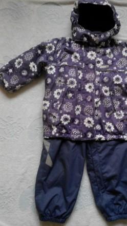 Продам зимнюю куртку Reima.Размер 98.На рукавах есть небольшие протертости.Есть . Славянск, Донецкая область. фото 3