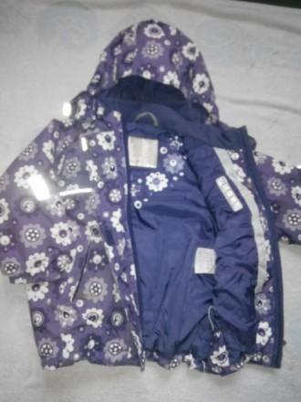 Продам зимнюю куртку Reima.Размер 98.На рукавах есть небольшие протертости.Есть . Славянск, Донецкая область. фото 6