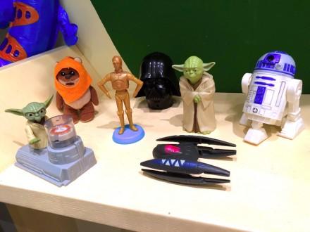 Star Wars - Звездные войны из макдональдс. Коллекция из 7 штук. Запорожье. фото 1