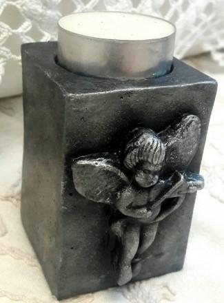 Винтажные подсвечники с ангелочками.. Дніпро. фото 1