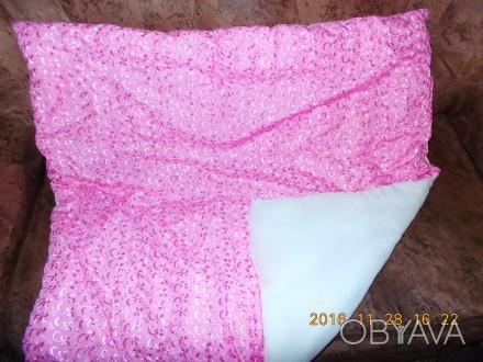 Одеяльце для новорожденного новое  Теплое, 90 на 90 см, верх- шитье, , трикотаж. Київ, Киевская область. фото 1