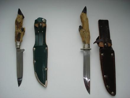 Ножи немецкой фирмы Rostfrei, с козьей ножкой. Киев. фото 1