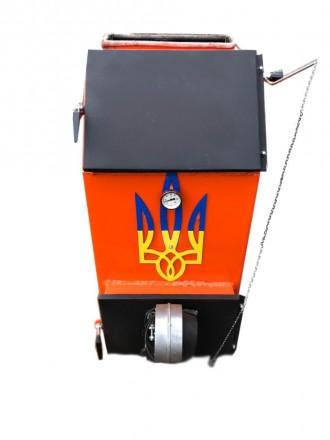 Твердотопливный котел УНК (Украинский Народный Котел ). Буча. фото 1