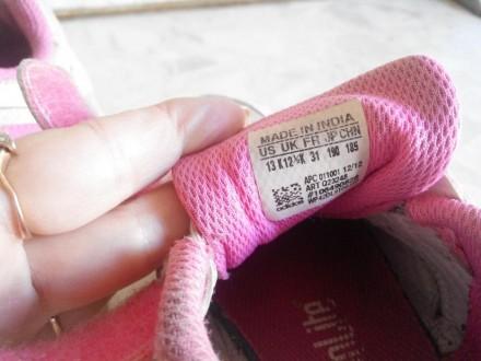 Продам фирменные кроссовки adidas для девочки.Размер 32.Длина стельки 19,5 см.Со. Славянск, Донецкая область. фото 5