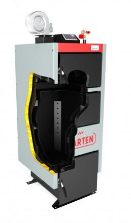 Твердотопливный котел Marten comfort 12 кВт. Буча. фото 1
