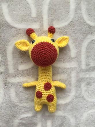 Игрушка ручной работы. Жираф. Харьков. фото 1