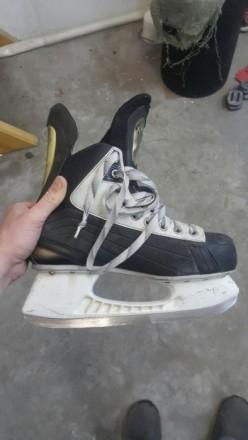 793704b7b00548 Коньки хоккейные Nike V8 размер 41 8D длина ноги 26.5 см очень удобные и  комфорт.
