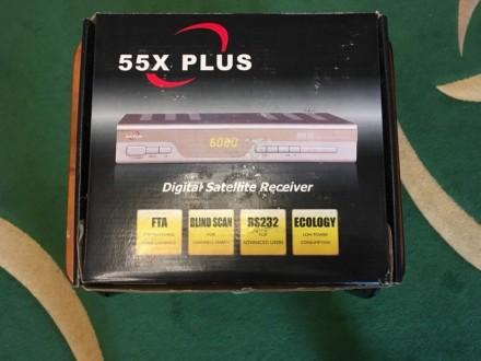 Спутниковый ресивер 55X PLUS. Винница. фото 1