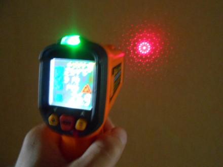 особенности: портативный инфракрасный термометр для бесконтактного измерения те. Яворов, Львовская область. фото 9
