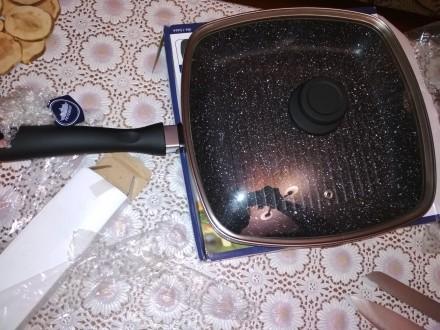 Сковородка гриль Peterhof. Самбор. фото 1
