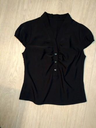 Продам блузу из мокрого шелка в идеальном состоянии. Кропивницкий. фото 1