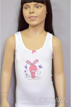 """Майка детская  для девочки. Коллекция:  """"Счастливый зайка"""". а также  можно при. Одесса, Одесская область. фото 1"""