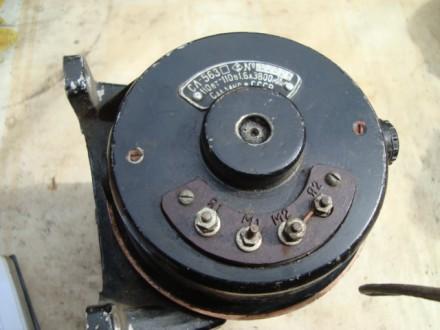 Электродвигатель практически не работал. Состояние рабочее. Напряжение 110 вольт. Чернигов, Черниговская область. фото 3