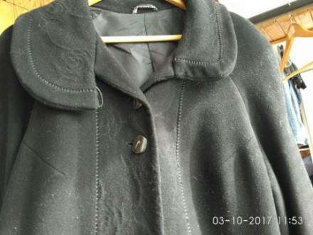 Пальто чёрное. Киев. фото 1