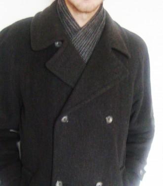 продам теплое пальто теплая натуральная ткань (100% wool)  внутри теплая, груб. Ровно, Ровненская область. фото 5