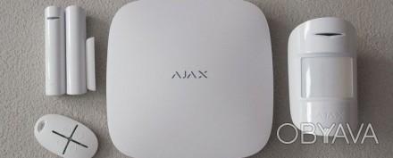 Ajax StarteKit — стартовый комплект беспроводной системы безопасности Ajax. В на. Киев, Киевская область. фото 1
