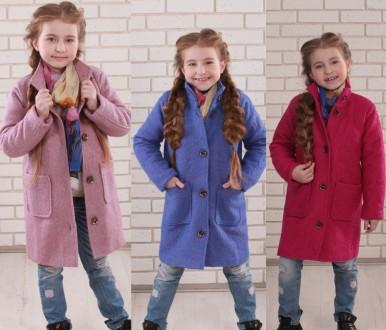 Шерстяные пальто, для девочек размеры и цвета разные. Сумы. фото 1