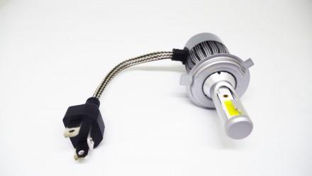 C2 Светодиодный БиКсенон H4 LED 36W 12V 3800K Светодиодные лампы головного свет. Чернигов, Черниговская область. фото 4
