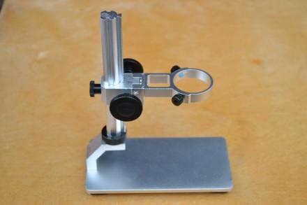 Полностью металлический штатив для USB цифрового микроскопа. Каменец-Подольский. фото 1