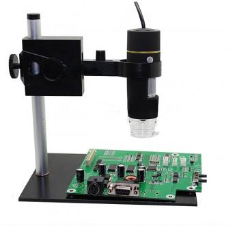 USB цифровой микроскоп 500 X 2 Мп + универсальный штатив. Каменец-Подольский. фото 1