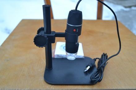 USB цифровой микроскоп 500 X 2 Мп + пластиковый штатив. Каменец-Подольский. фото 1
