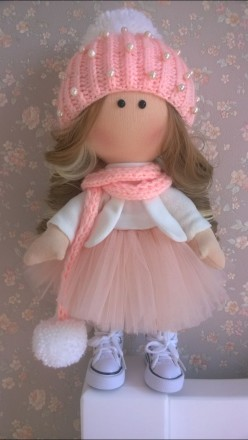 Продається інтер'єрна лялька ручної авторської роботи.. Львов. фото 1