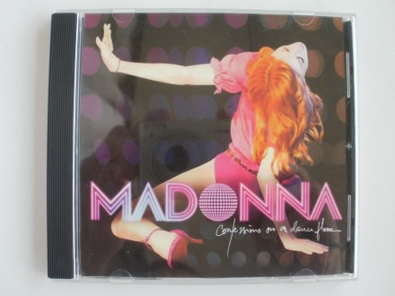 Компакт диск Audio CD Madonna Confessions on a Dance Floor NM. Смела. фото 1